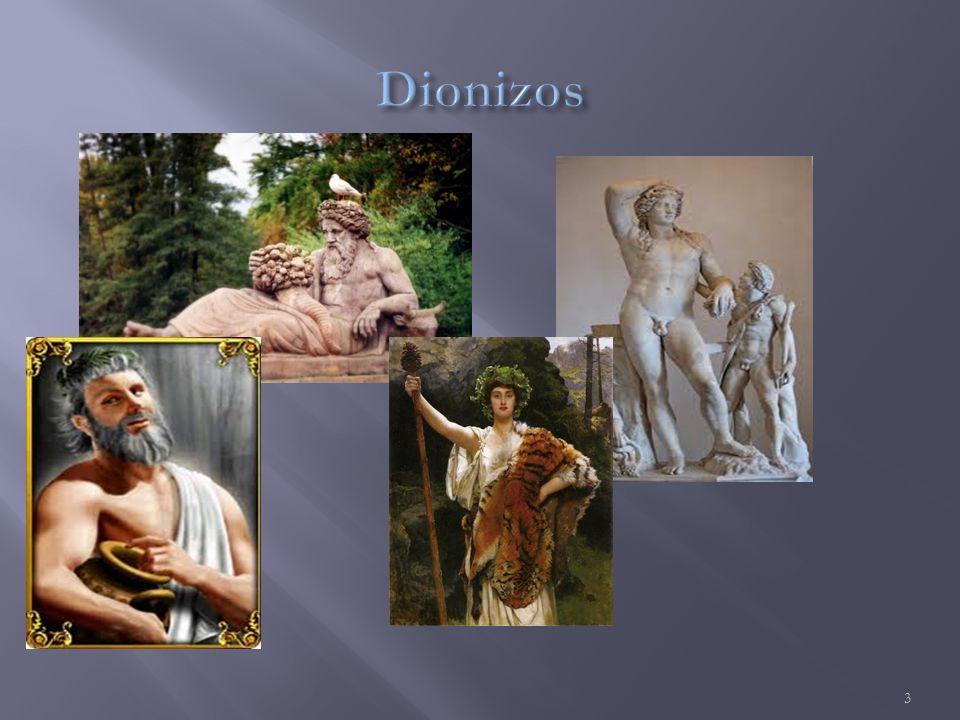  Syn Dzeusa i Seleme (córka króla Kadmosa) – jest bohaterem mitologii greckiej.