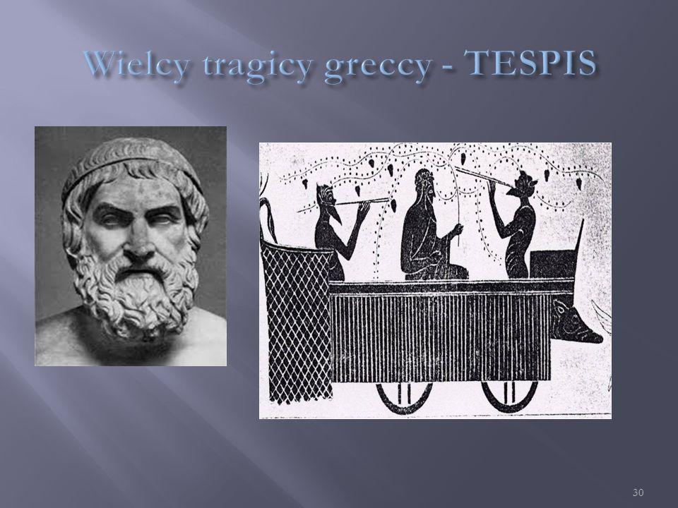  (525 –456 p.n.e.) –pochodził z Eleuzis, autor 70 tragedii i 20 dramatów satyrowych.