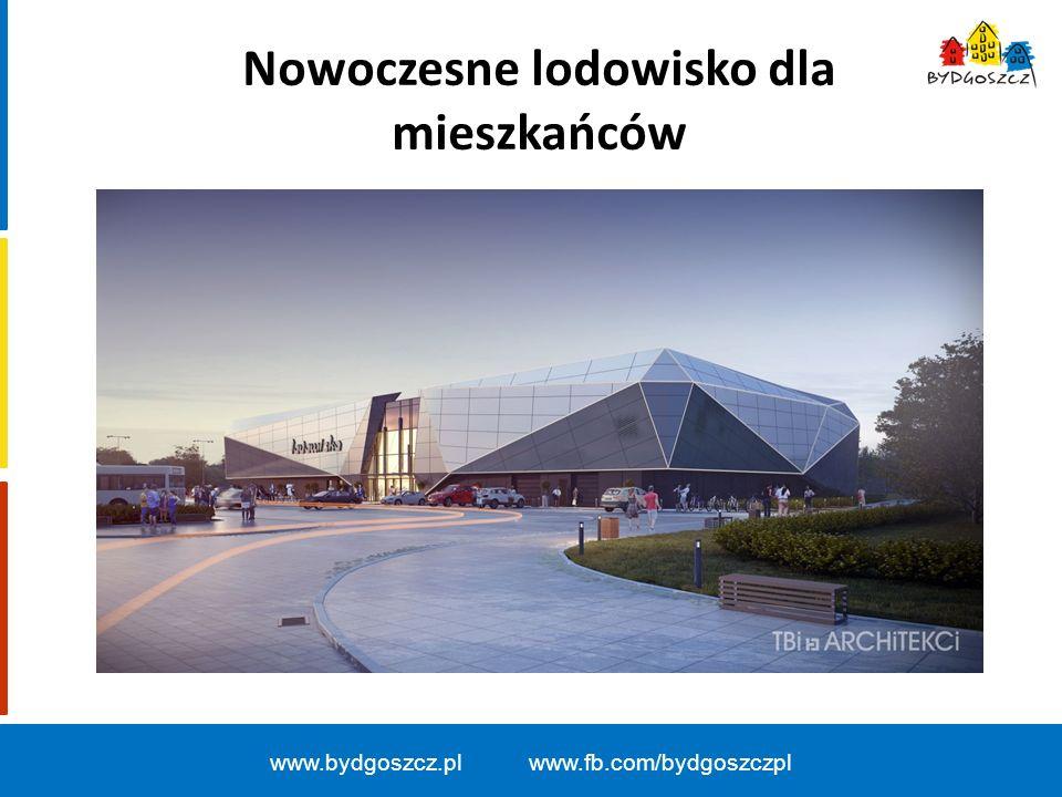 Nowoczesne lodowisko dla mieszkańców www.bydgoszcz.pl www.fb.com/bydgoszczpl