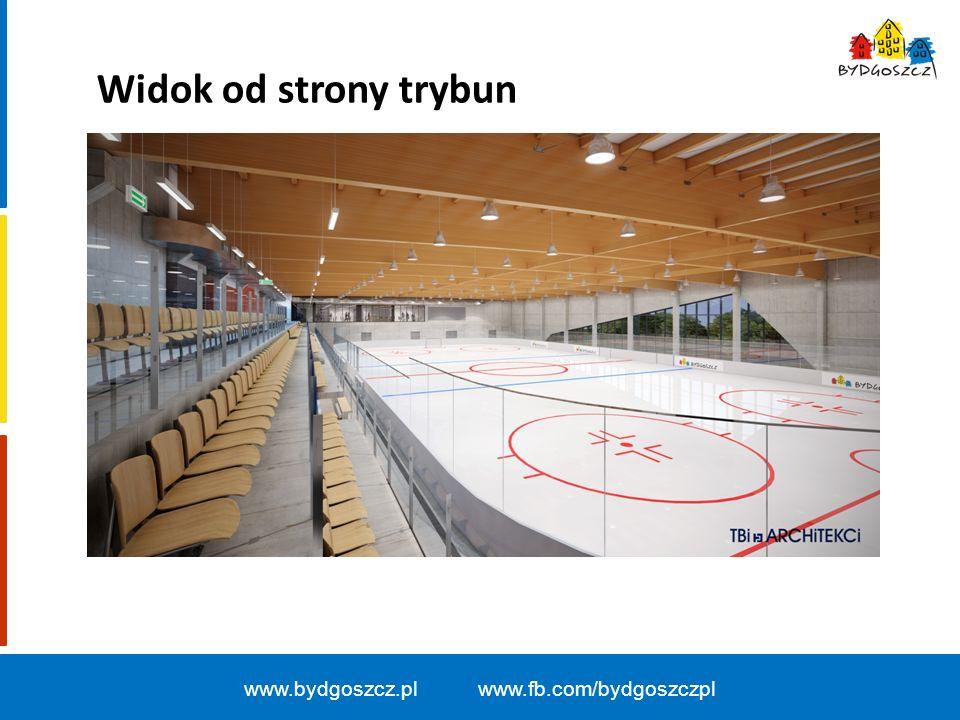 www.bydgoszcz.pl www.fb.com/bydgoszczpl Widok od strony trybun
