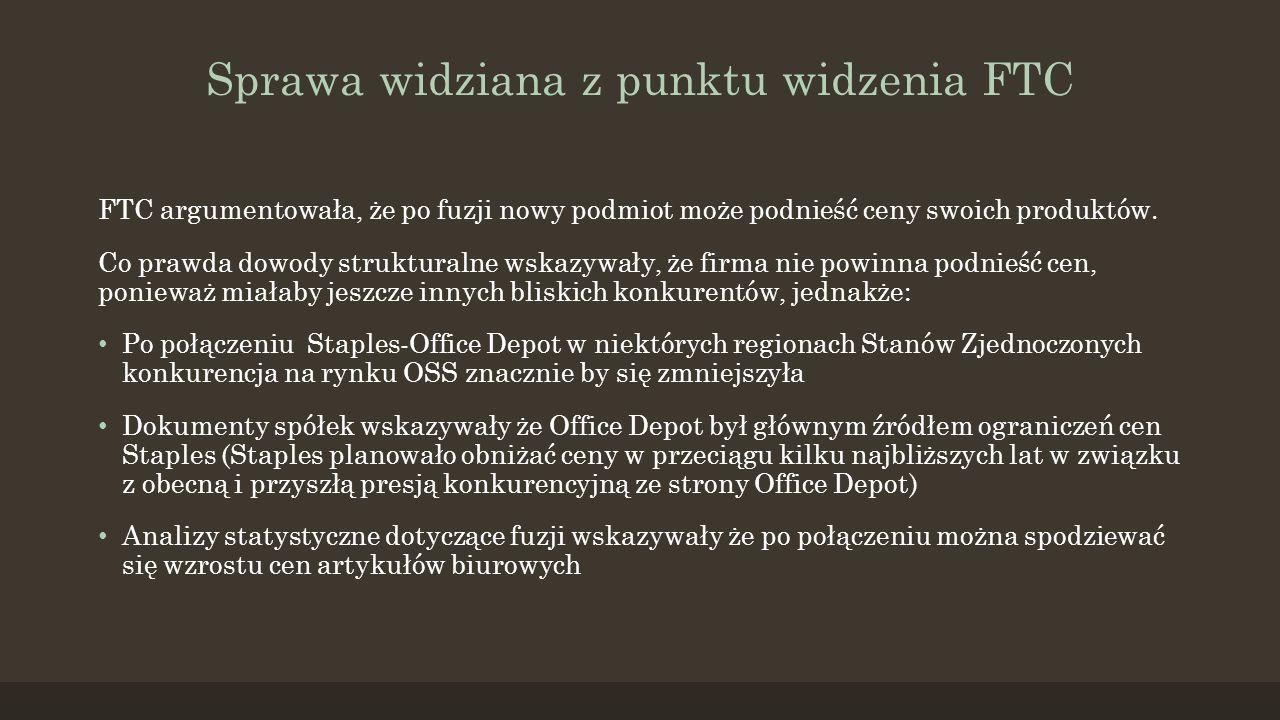 UOKiK uznał, że CEDC, będąc czołowym dystrybutorem i producentem napojów alkoholowych w Polsce, po przejęciu kolejnej spółki sektora mógłby uzyskać zbyt silną pozycję rynkową.