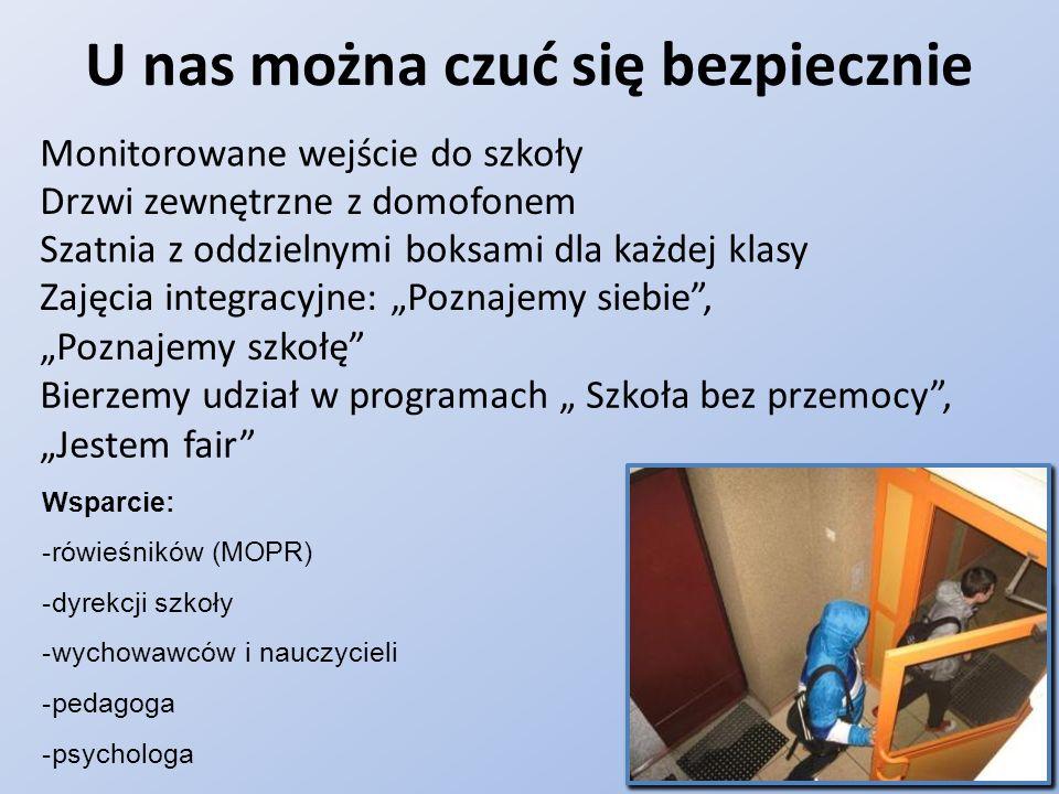 W języku angielskim zrealizowaliśmy projekty LLP Comenius: G.Y.E.C.