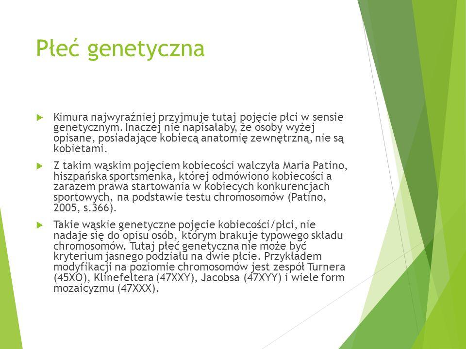 PAIS  Zespól ten prowadzi do genitaliów o mieszanym utkaniu (albo genitaliów i gonad obu płci naraz).