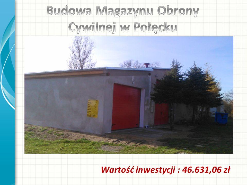 Wartość inwestycji : 46.631,06 zł