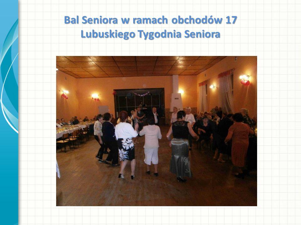 Bal Seniora w ramach obchodów 17 Lubuskiego Tygodnia Seniora