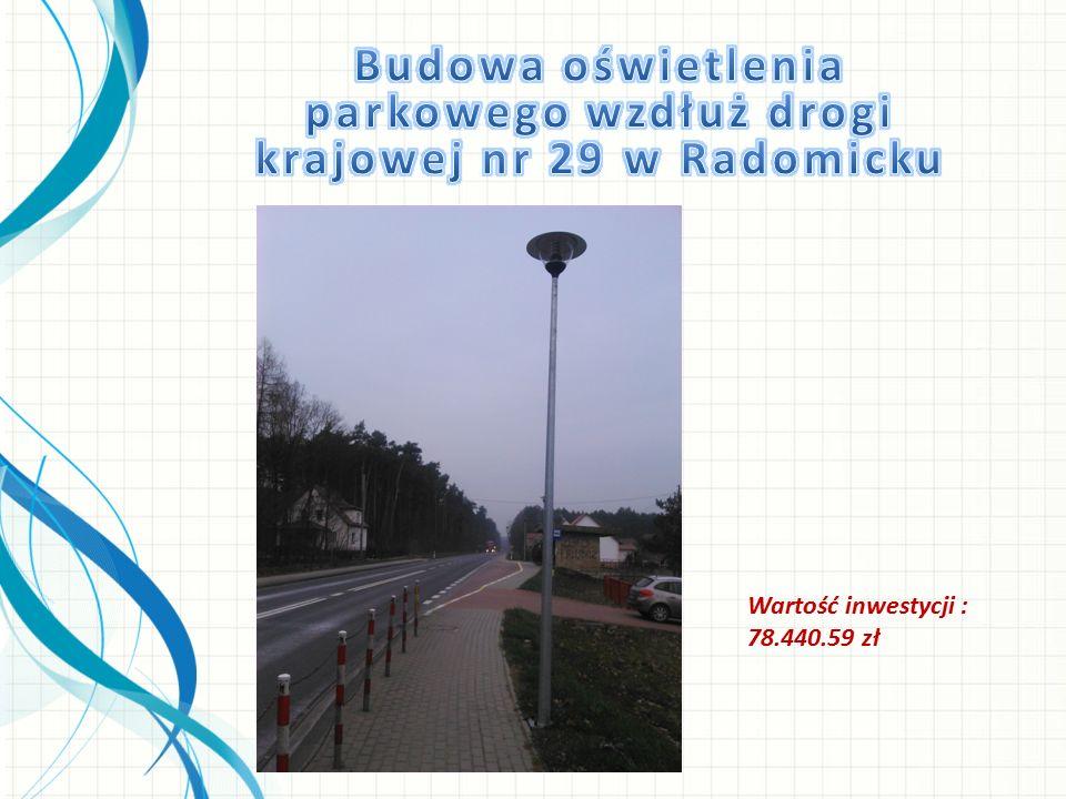 Wartość prac przy utrzymaniu i konserwacji rowów i zbiorników melioracyjnych : 55.227,30 zł