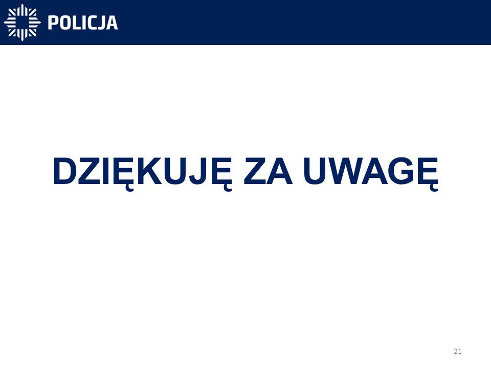 21 -40 831 -40 300-31 450 DZIĘKUJĘ ZA UWAGĘ