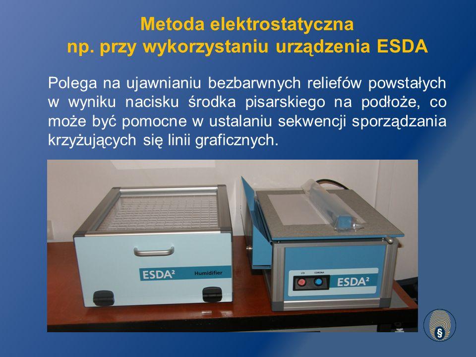 Metoda elektrostatyczna np.
