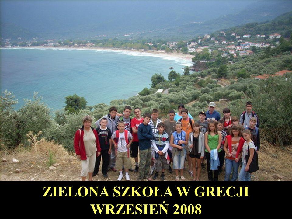 ZIELONA SZKOŁA W GRECJI WRZESIEŃ 2008