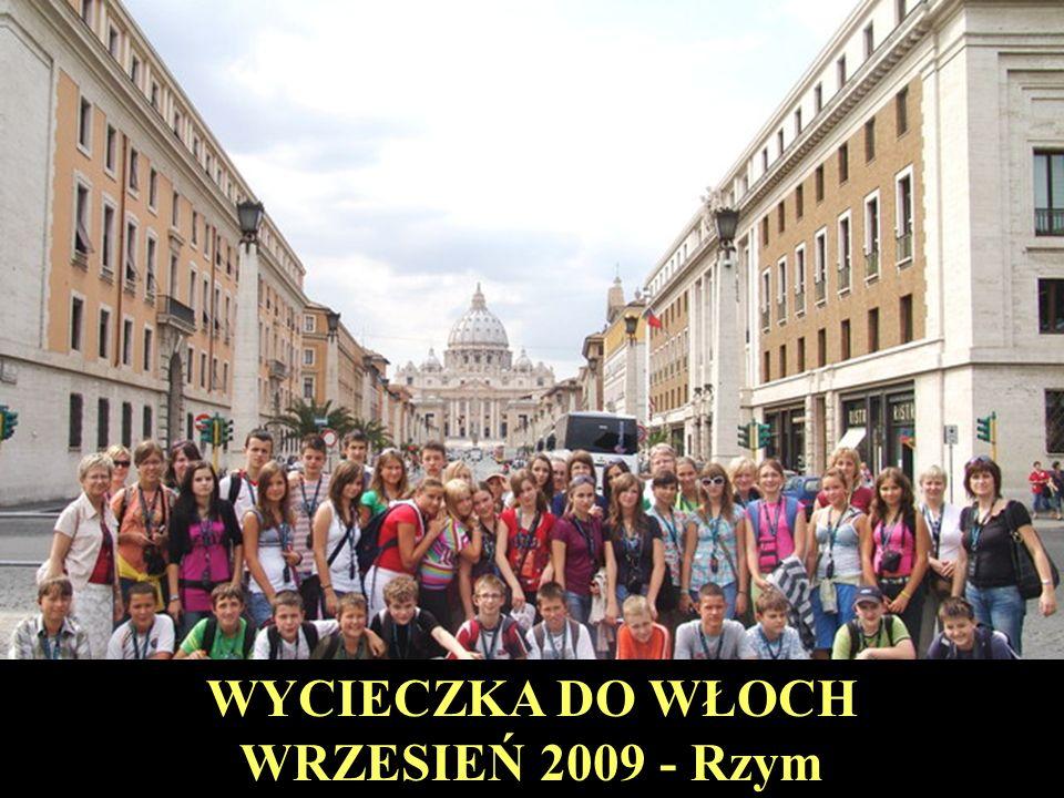 WYCIECZKA DO WŁOCH WRZESIEŃ 2009 - Rzym