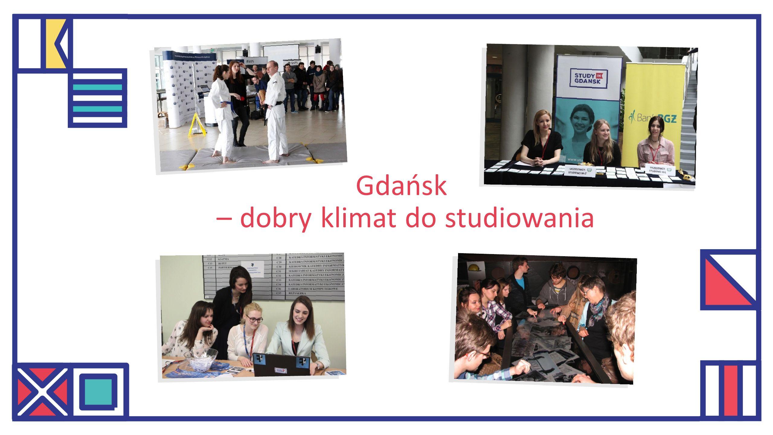 Gdańsk – dobry klimat do studiowania