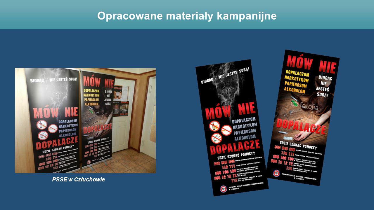 PSSE w Człuchowie Opracowane materiały kampanijne