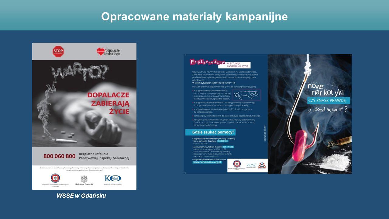 WSSE w Gdańsku Opracowane materiały kampanijne