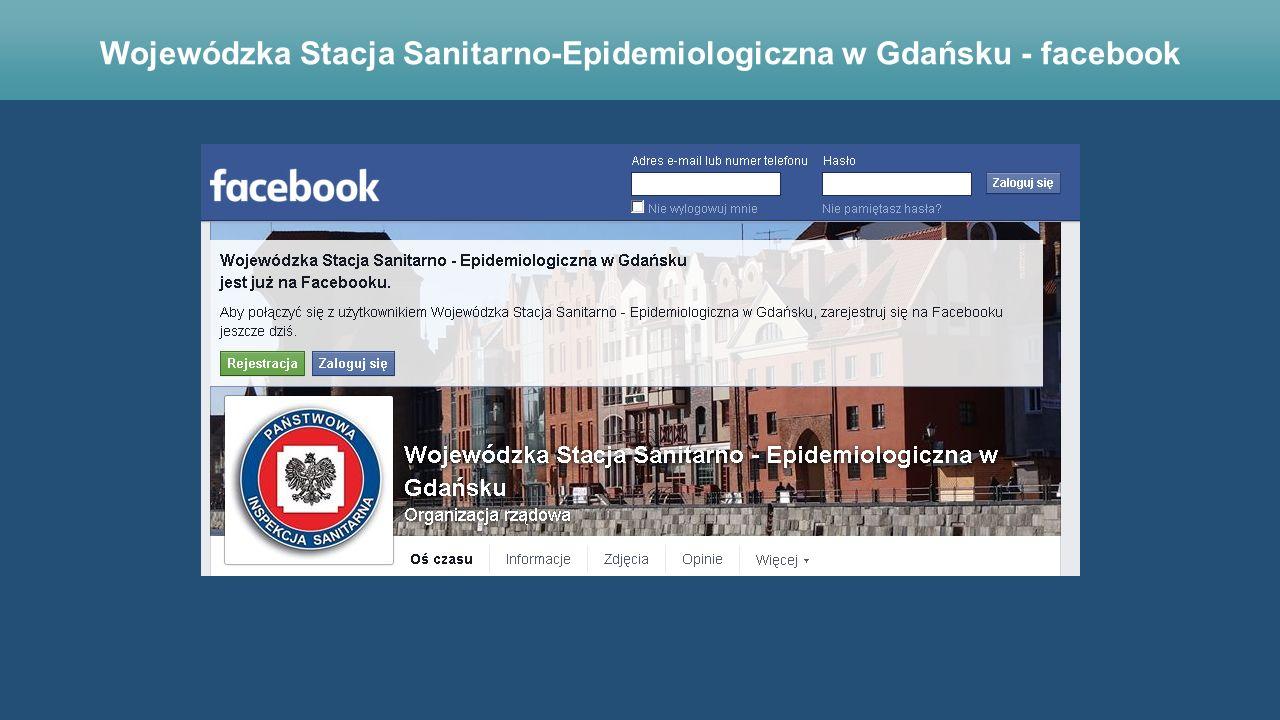Wojewódzka Stacja Sanitarno-Epidemiologiczna w Gdańsku - facebook