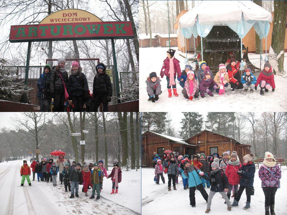 W piękny, śnieżny, zimowy dzień pojechaliśmy do Krainy Zimowych Opowieści w Arturówku.