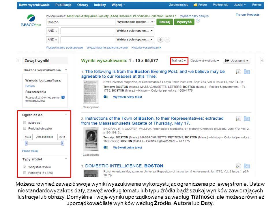 Pierwsza strona artykułu jest wyświetlona w Przeglądarce Cyfrowego Archiwum.
