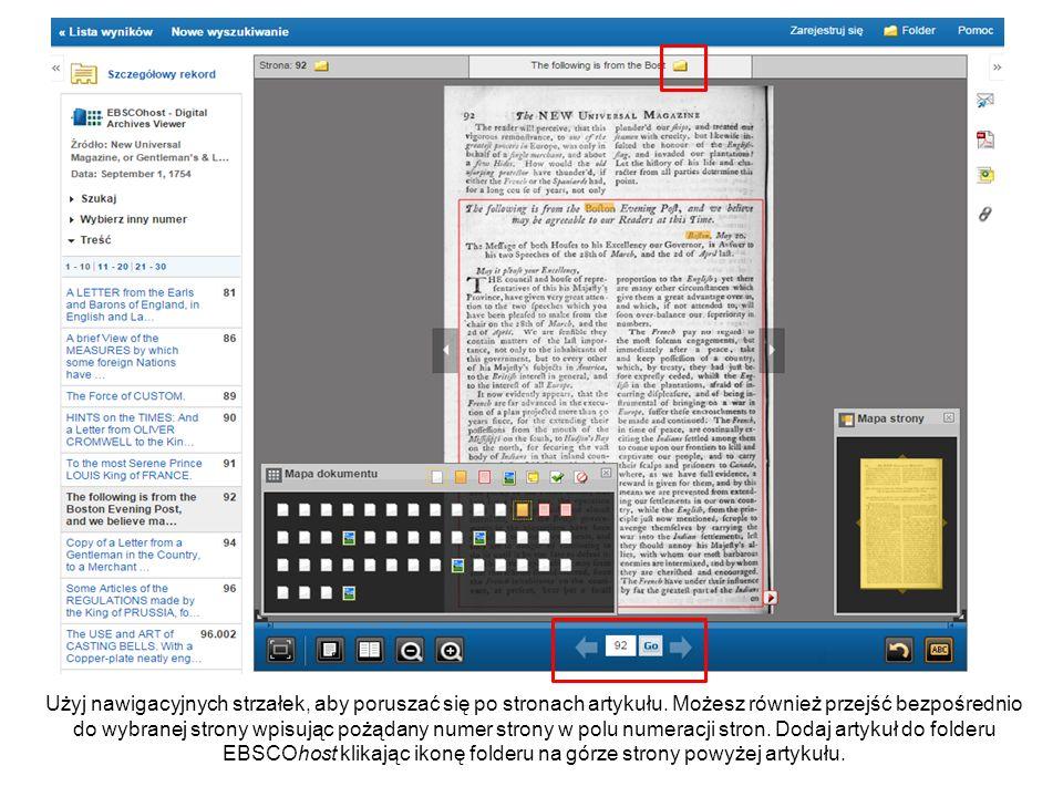 Obróć stronę w lewo, klikając przycisk Obróć stronę po prawej stronie na dolnym pasku narzędzi.