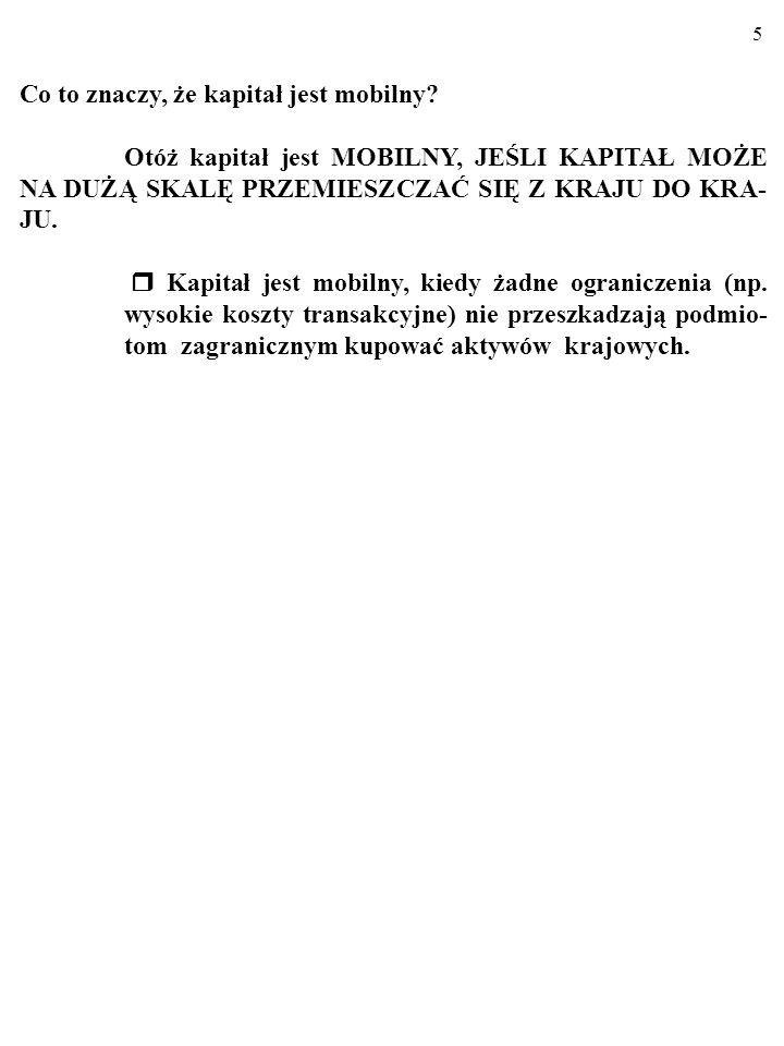 """4 1. POLITYKA GOSPODARCZA W GOSPODARCE OTWAR- TEJ - KRÓTKI OKRES Na razie ograniczymy się do krótkiego okresu, w którym gospo- darka jest """"keynesowska"""