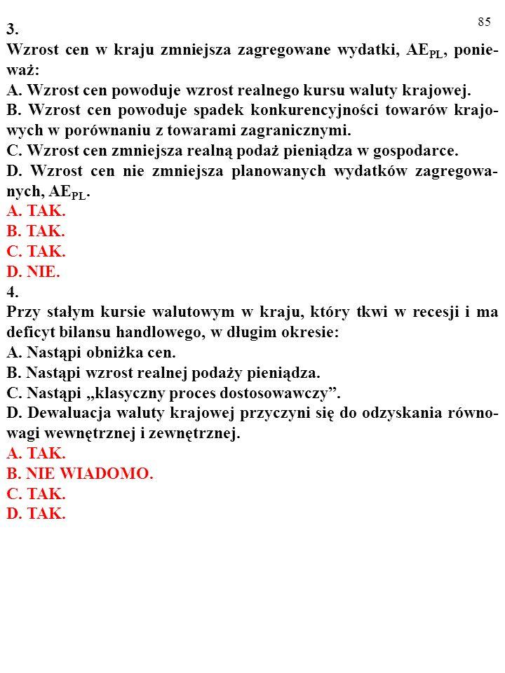 84 Test (Plusami i minusami zaznacz prawdziwe i fałszywe odpowiedzi) 1.