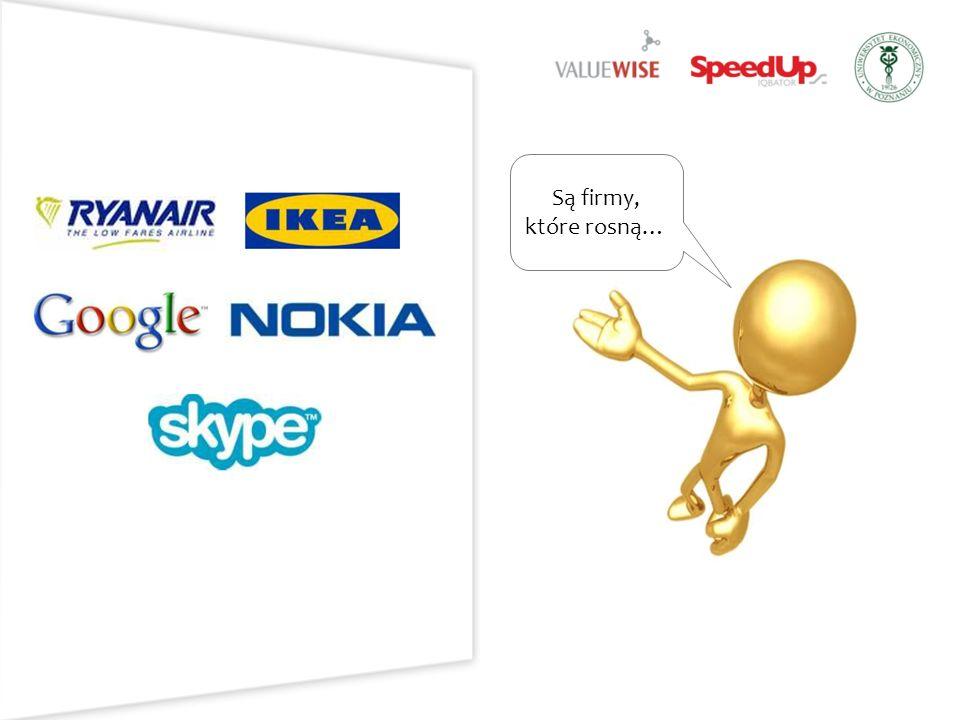 Są firmy, które rosną…