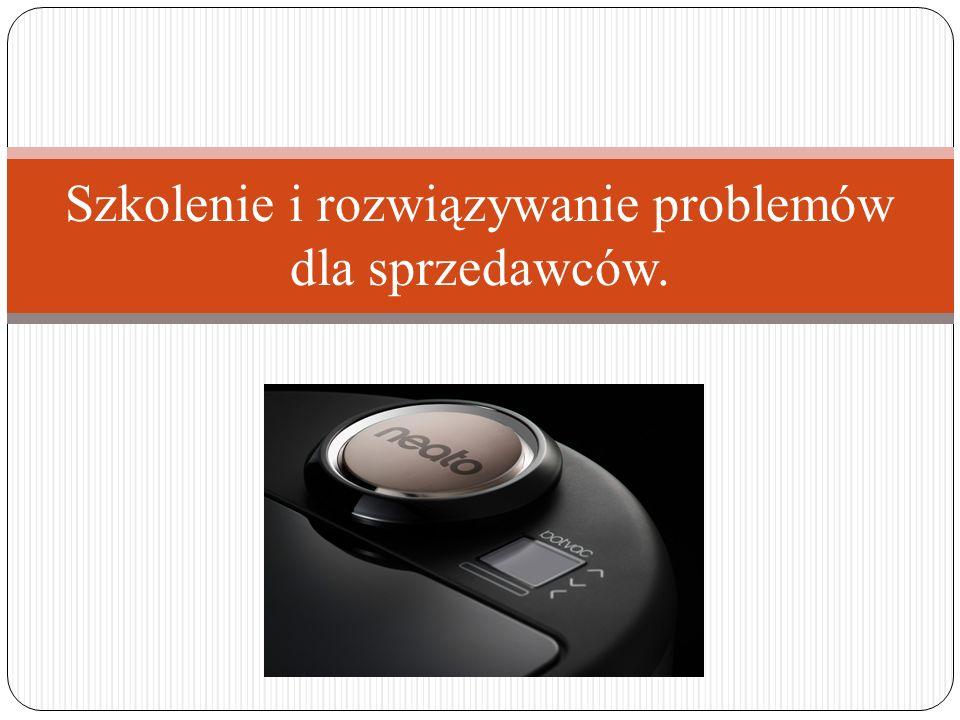 Szkolenie i rozwiązywanie problemów dla sprzedawców.