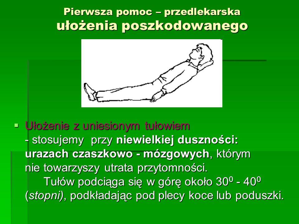"""Pierwsza pomoc przedlekarska  Czy potrzebna jest przerwa;  Chwila na głębszy oddech;  Można """"wyprostować kości ;  Jaka jest propozycja???"""
