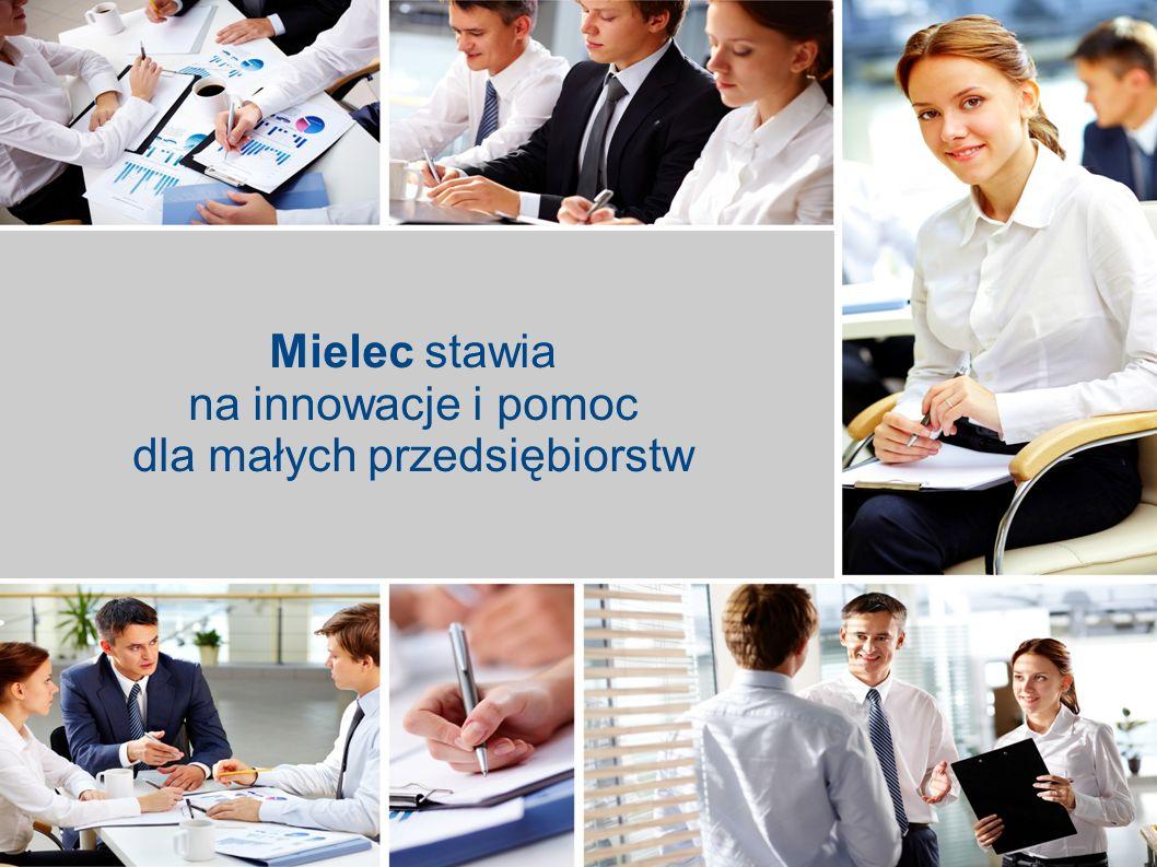 Mielec stawia na innowacje i pomoc dla małych przedsiębiorstw