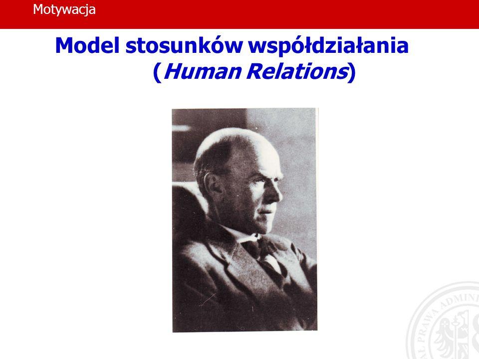 Model stosunków współdziałania (Human Relations)