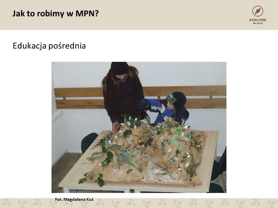 Jak to robimy w MPN? Edukacja pośrednia Fot. Magdalena Kuś