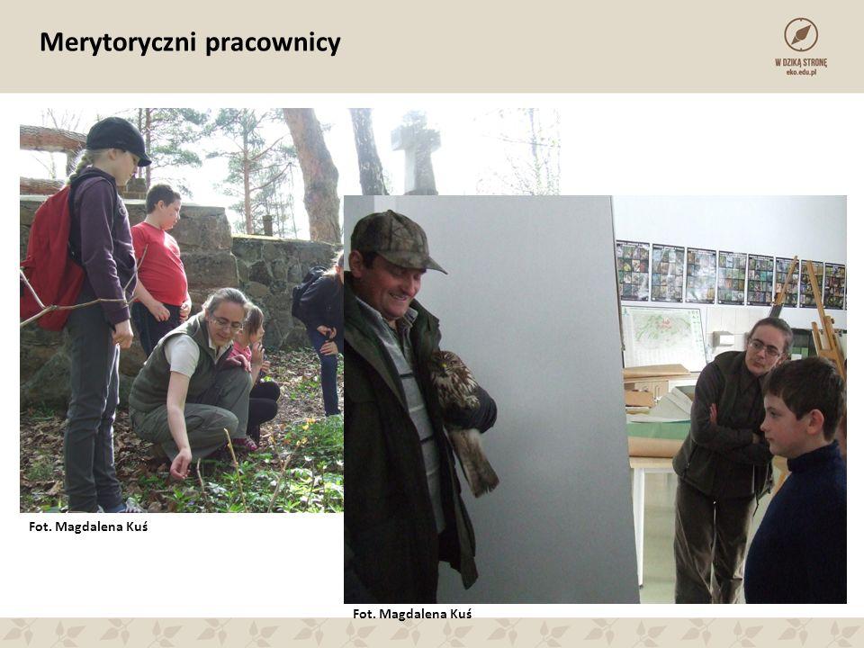 Merytoryczni pracownicy Fot. Magdalena Kuś