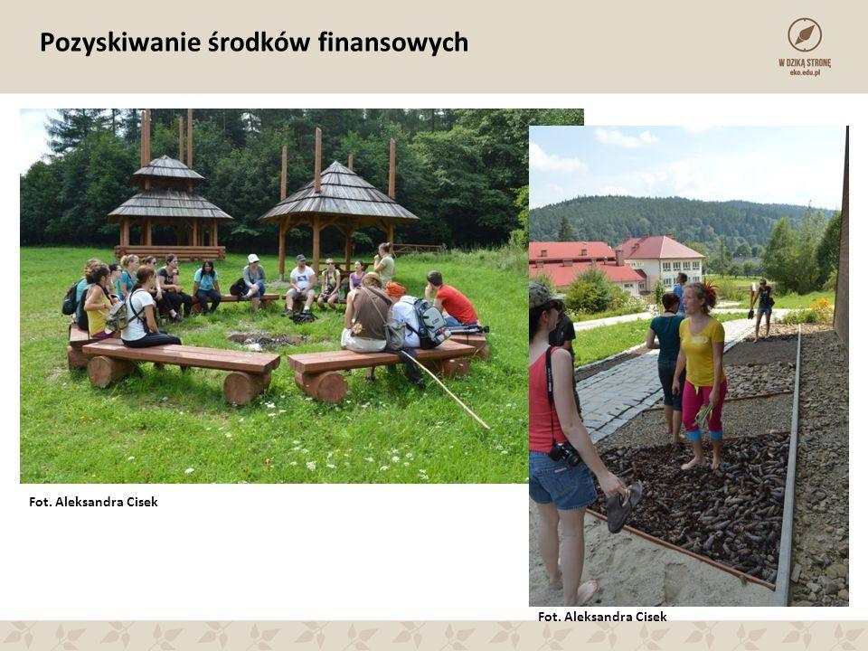Pozyskiwanie środków finansowych Fot. Aleksandra Cisek