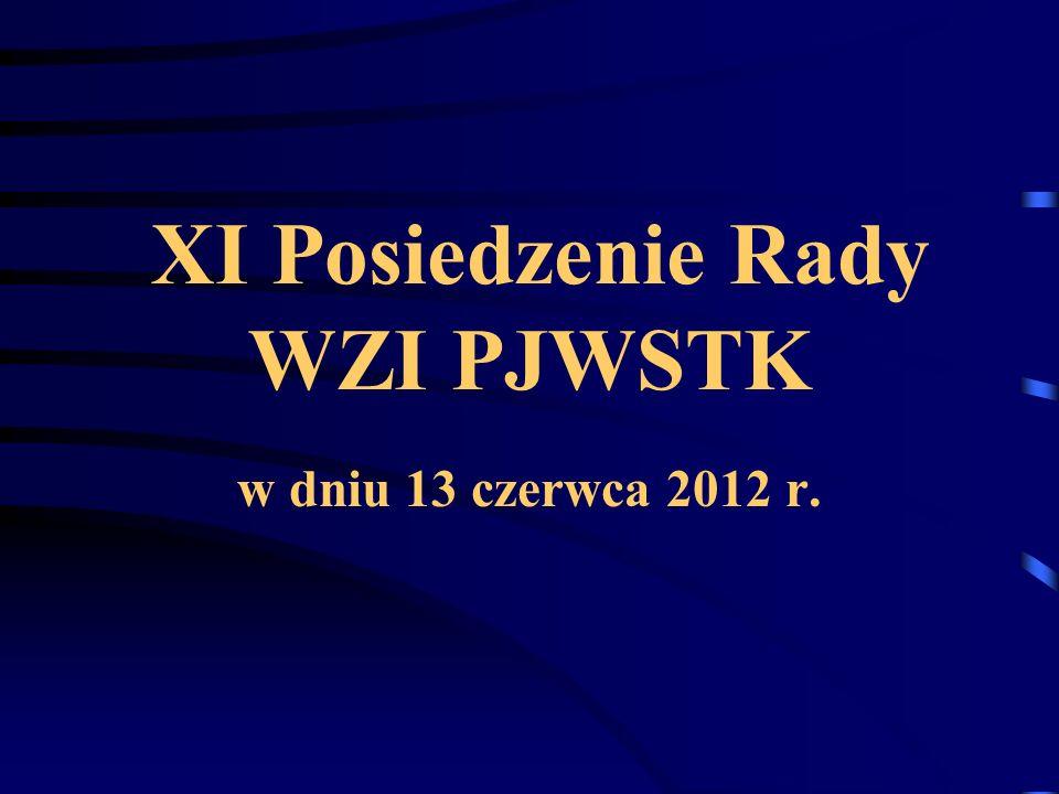 XI Posiedzenie Rady WZI PJWSTK w dniu 13 czerwca 2012 r.