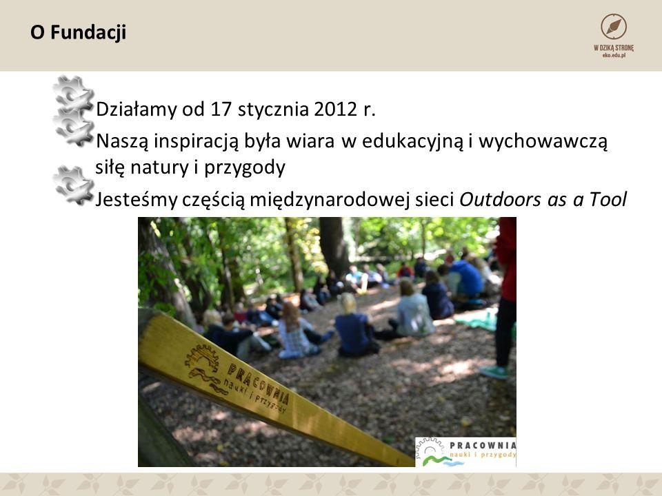 Misja Celem działania Pracowni Nauki i Przygody jest promocja i rozwój pedagogiki przygody w Polsce.