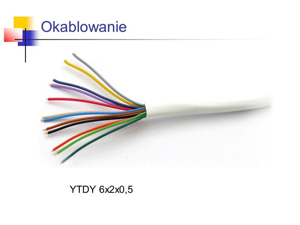 Okablowanie YTDY 6x2x0,5