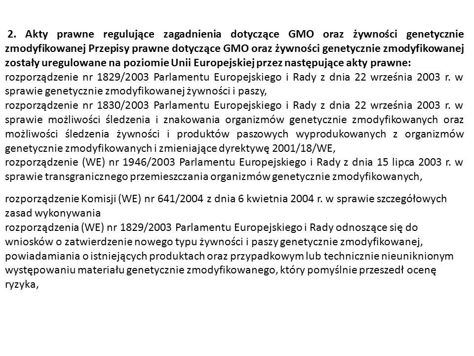 rozporządzenie Komisji Nr 65/2004 z dnia 14 stycznia 2004 r.