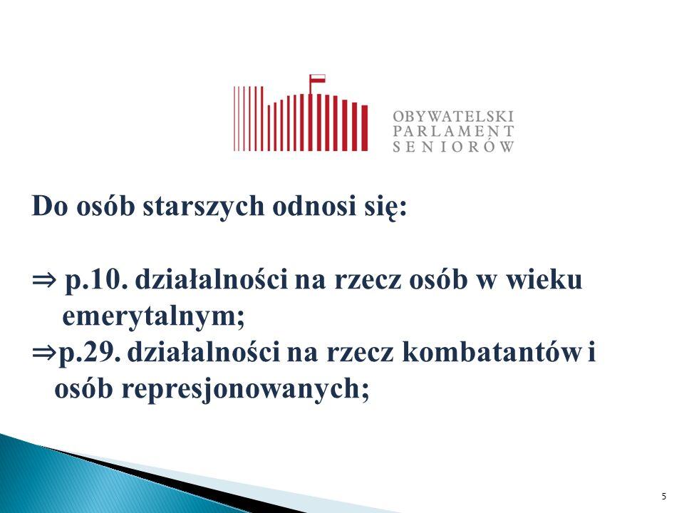6 Konstrukcja definicji organizacji senioralnej autorstwa prof.
