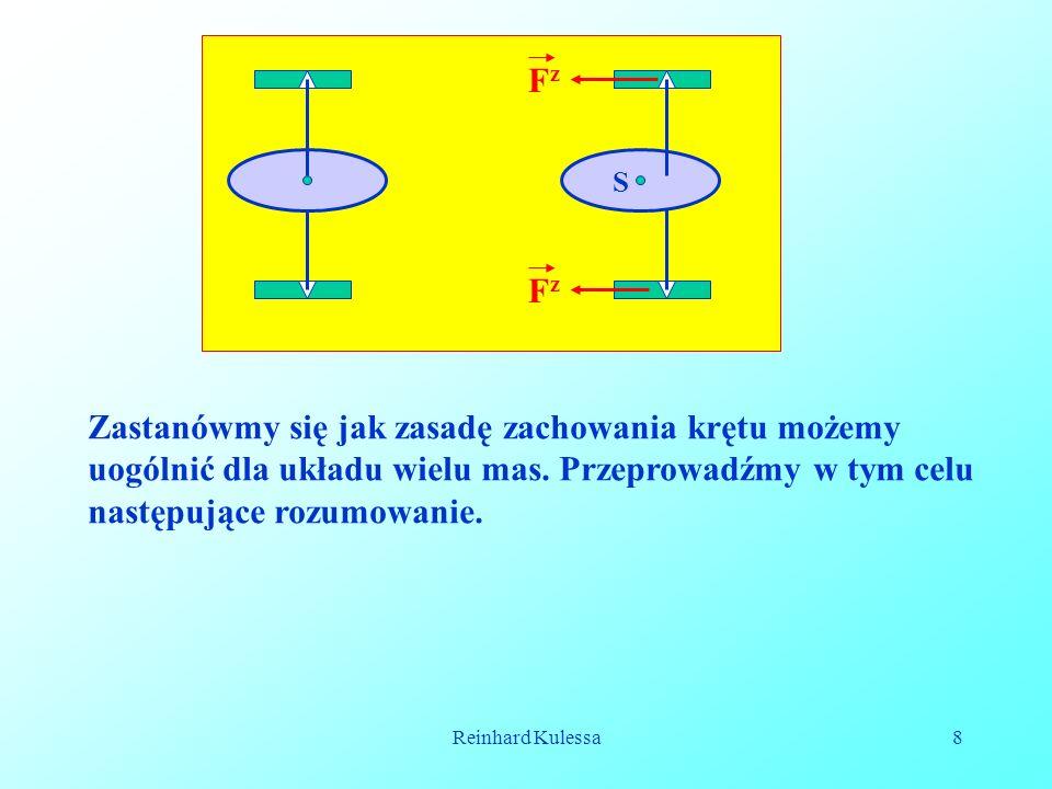Reinhard Kulessa19 1.Jeśli ciało niebieskie posiada energię E 1, zbliża się ono na odległość r S, a następnie oddala się do nieskończoności.
