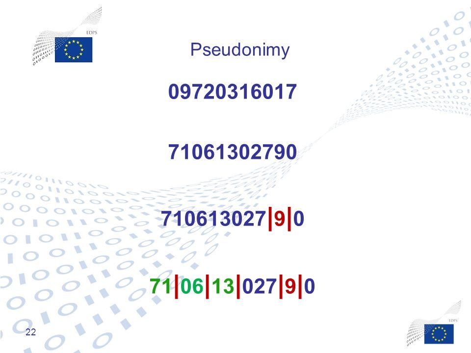 22 Pseudonimy 09720316017 71061302790 710613027 | 9 | 0 71 | 06 | 13 | 027 | 9 | 0