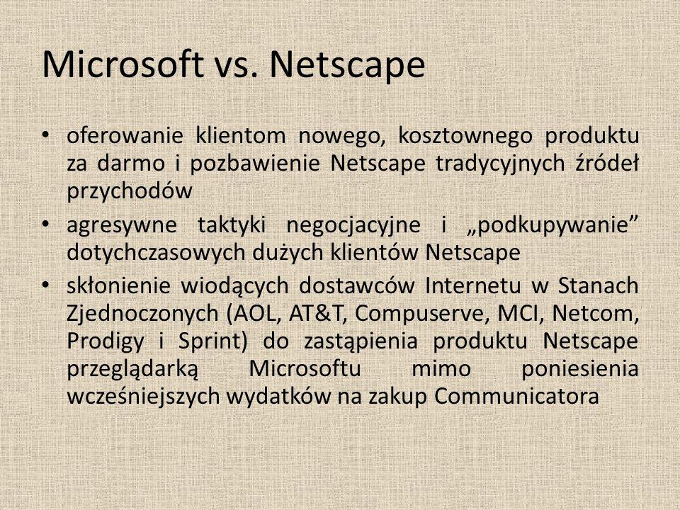 Microsoft vs.