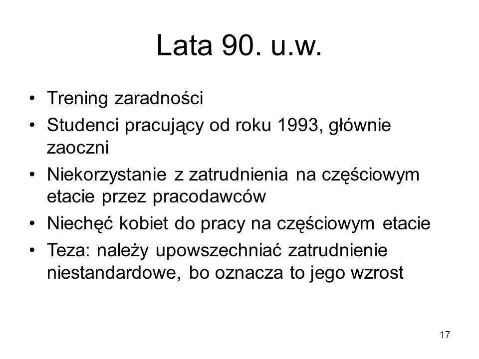 17 Lata 90. u.w.