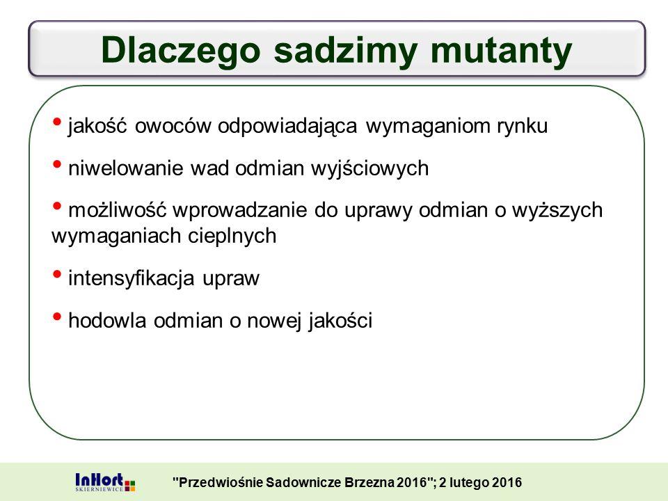Mutanty odmiany 'Ligol' Przedwiośnie Sadownicze Brzezna 2016 ; 2 lutego 2016