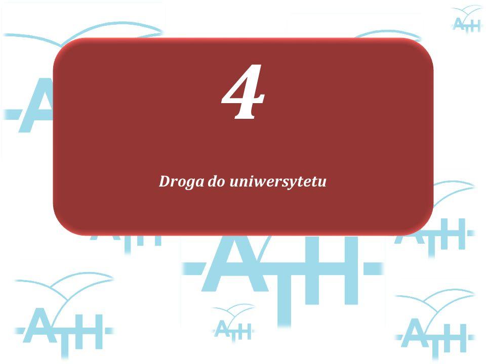 4 Droga do uniwersytetu