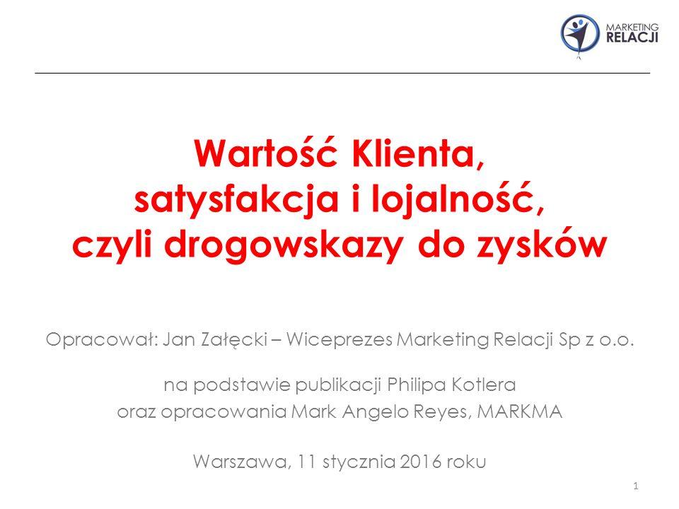 Opracował: Jan Załęcki – Wiceprezes Marketing Relacji Sp z o.o.