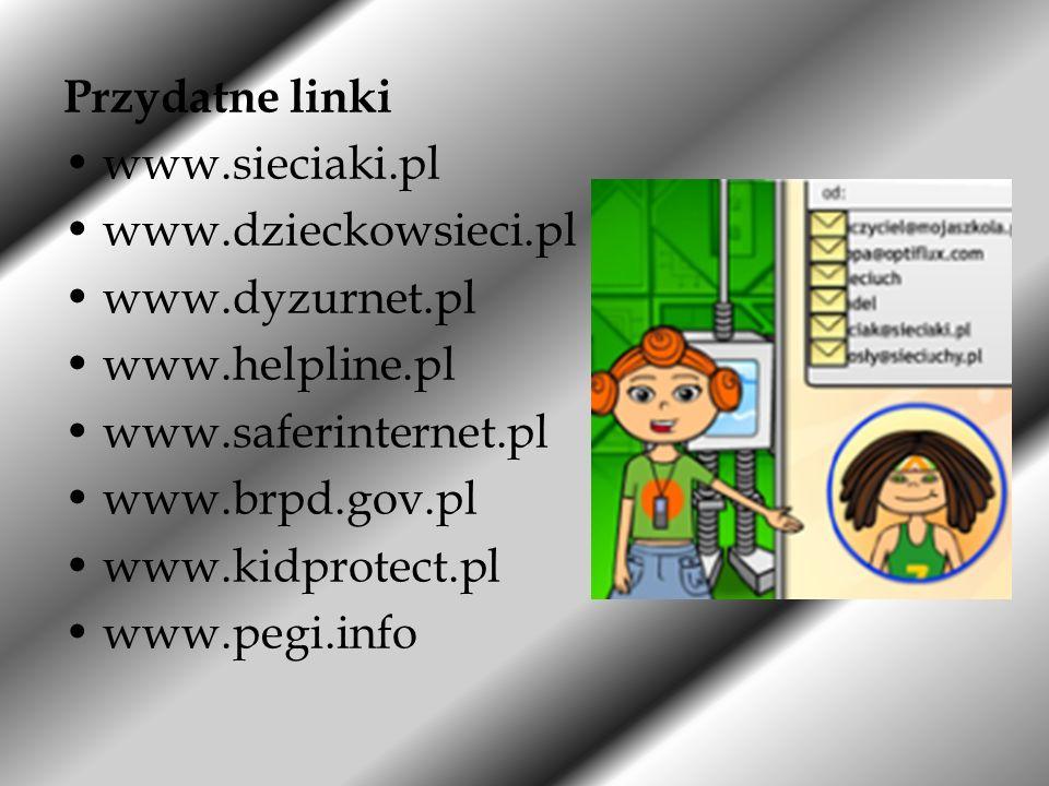 W prezentacji wykorzystano: materiały oraz plakaty umieszczone na stronie DBI; cliparty z ogólnodostępnych stron internetowych.