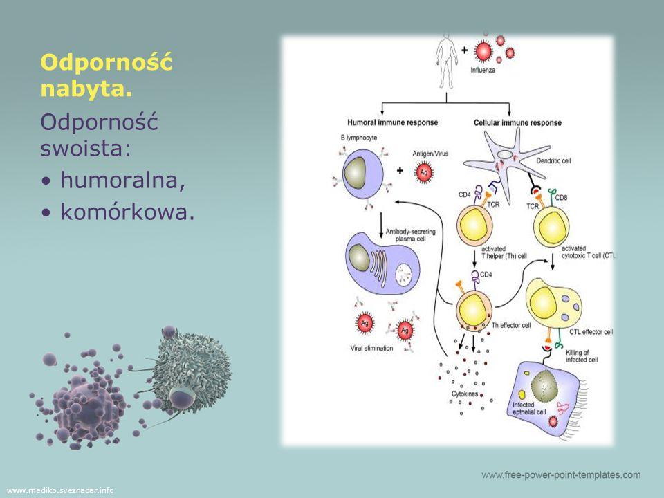 Komórkowa służy do eliminowania patogenów wewnątrzkomórkowych np.