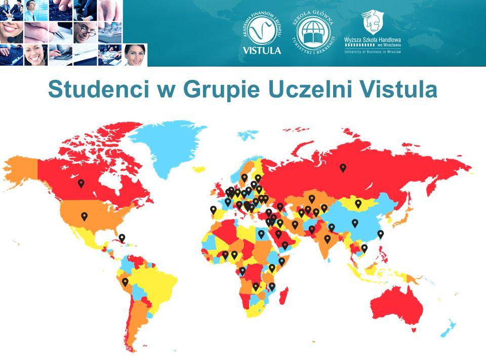 Studenci w Grupie Uczelni Vistula