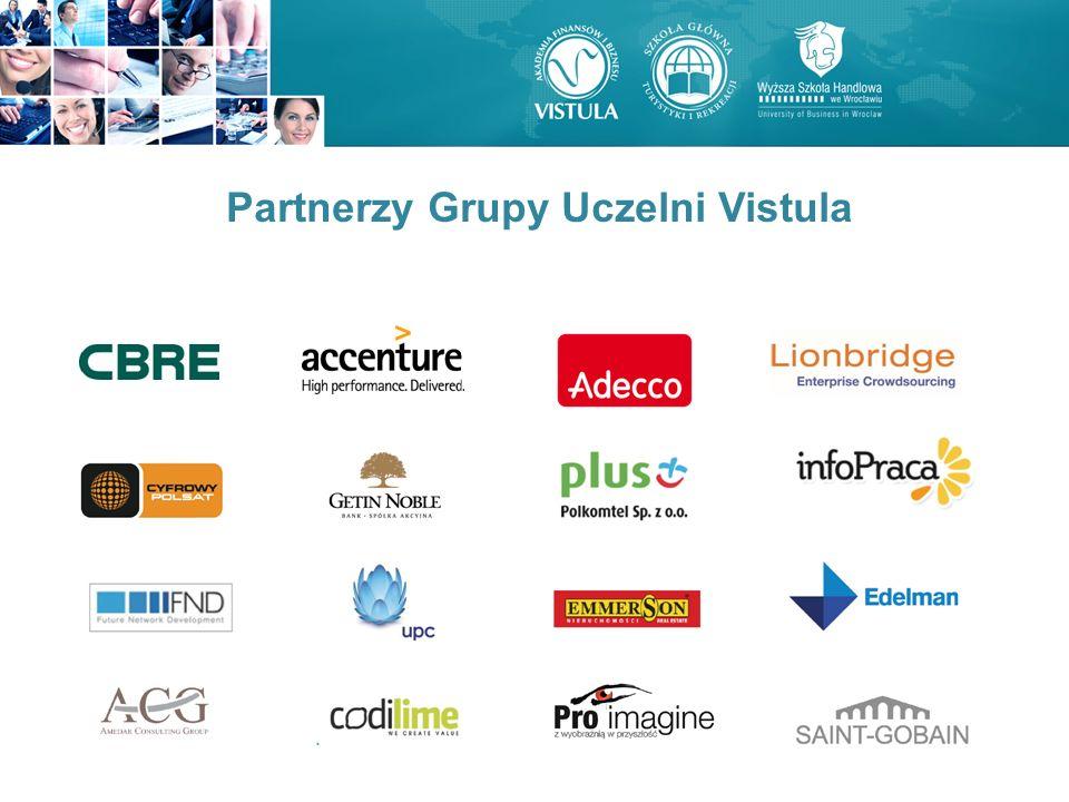 Partnerzy Grupy Uczelni Vistula