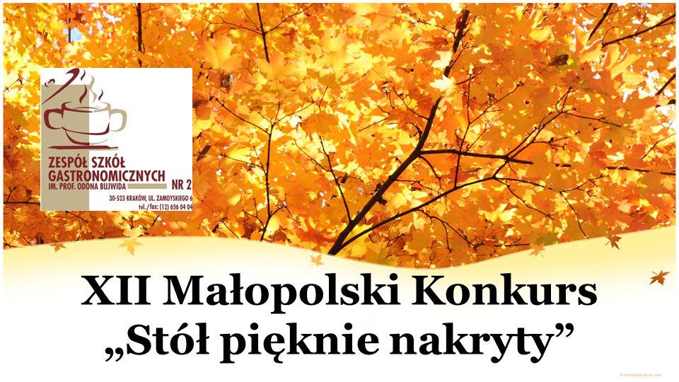 """XII Małopolski Konkurs """"Stół pięknie nakryty"""