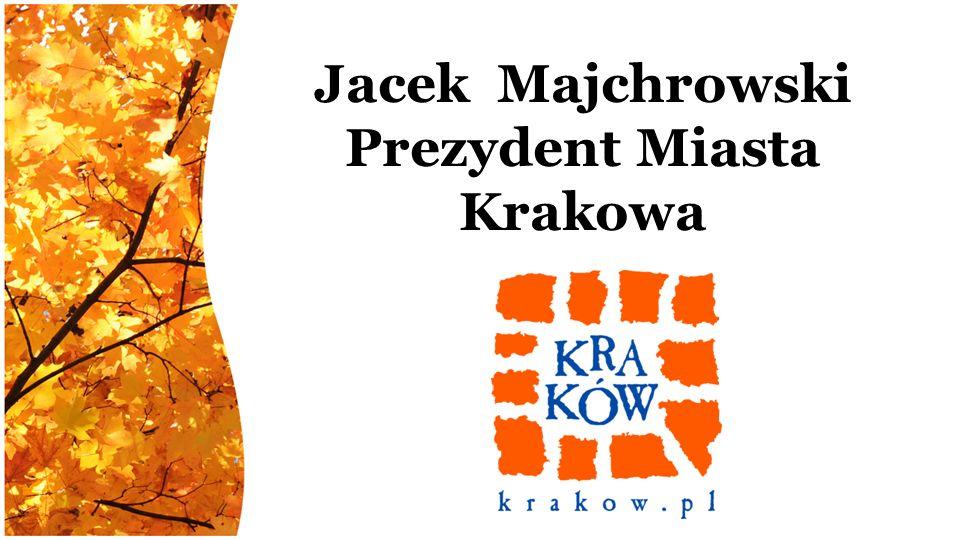 Jacek Majchrowski Prezydent Miasta Krakowa
