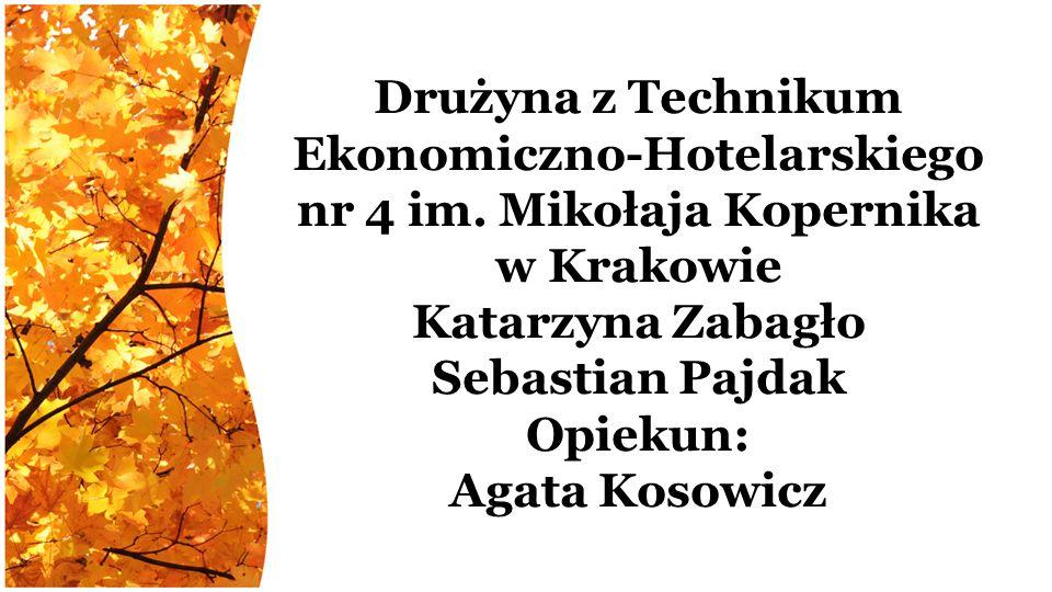 Drużyna z Technikum Ekonomiczno-Hotelarskiego nr 4 im.